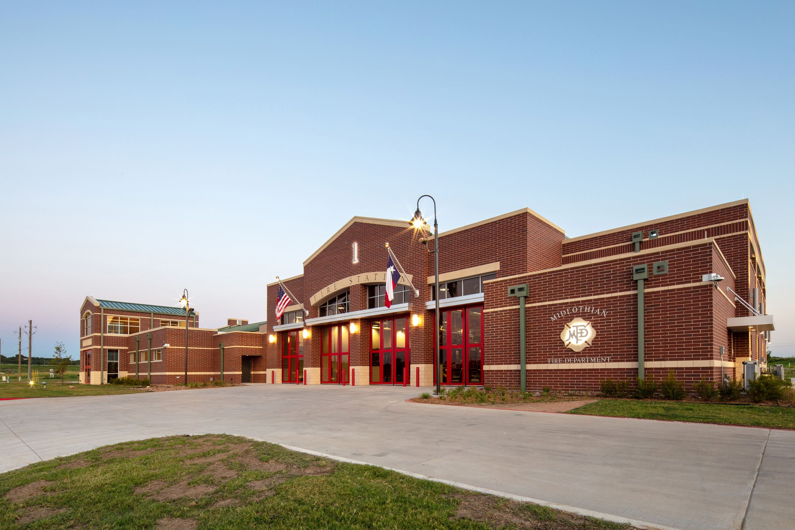 photo of front of Fire Station No. 1
