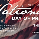 National Day of Prayer event flyer