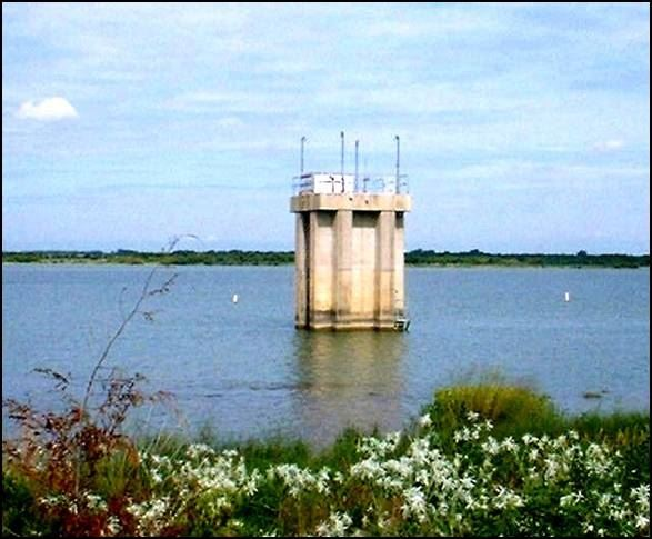 Joe Pool Lake Intake