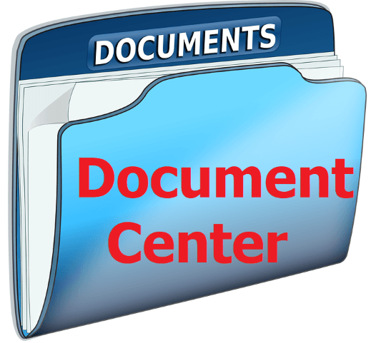 Document Center 2.0 Opens in new window
